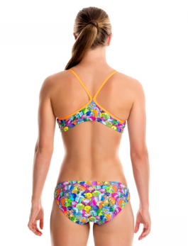 Bang Bang Budgie-Girls  Racerback Two Piece Funkita