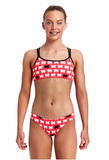 Black Sheep -Girls  Criss Cross Back Two Piece Funkita
