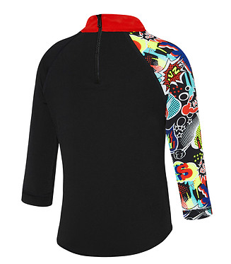Toddler Boys Boom Long Sleeve Suntop Speedo