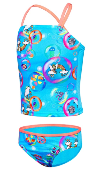 Bubble Gum World Tankini Toddler Girl