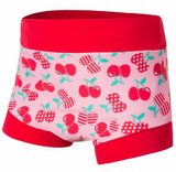 .Baby Girl Cherry Love High Waisted Nappy cover