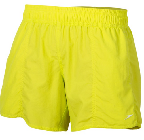 Womens Solid Leisure short / Citrus