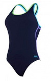 Collaroy Fast back Navy Ladies  Zoggs
