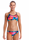 Colour Burst-Girls  Racerback Two Piece Funkita