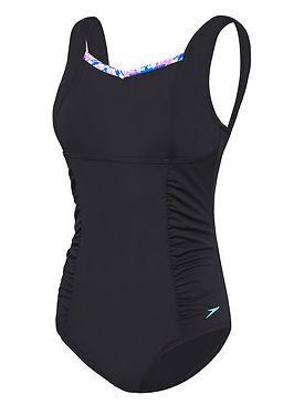 Contour Motion Ladies Speedo Black/ Red