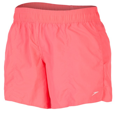 solid leisure short / Coral