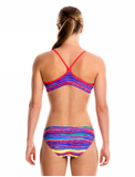 Crystal Wave-Girls  Racerback Two Piece Funkita