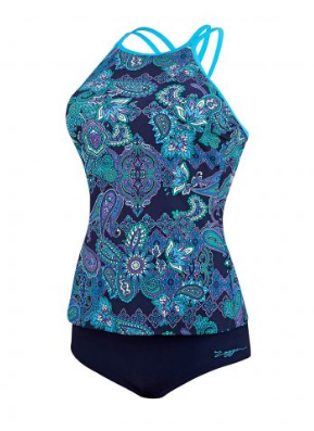 Dark Oriental  Tankini  Ladies Zoggs