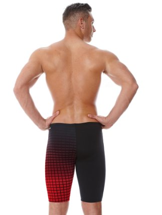 Darwin Black Red Mens Jammer Zoggs