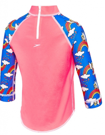 Day Fairy Toddler Girls  Long Sleeve Suntop Speedo
