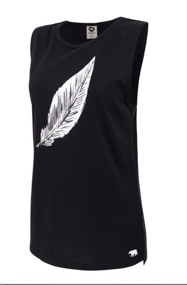 Easy Rider Muscle Tank/ Feather