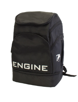 Engine Black Backpack