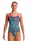 Feather Fiesta -Girls Diamond Back Funkita