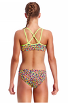 Fireworks -Girls  Criss Cross Back Two Piece Funkita
