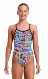 Full Metal Funky-Girls Single Strap Funkita