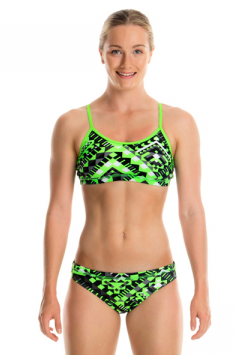 Laser Cube -Girls  Racerback Two Piece Funkita