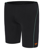 Logo Boys Jammer/Black Fluro Orange
