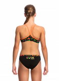 Night Swim -Girls  Racerback Two Piece Funkita