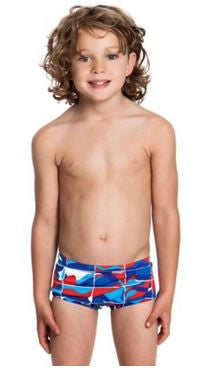 Printed Trunks Ocean Sand Boys
