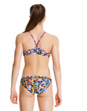 Painted Petalss -Girls  Racerback Two Piece Funkita