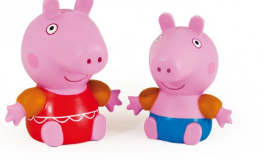 Peppa Pig  Squirts Zoggs accessories