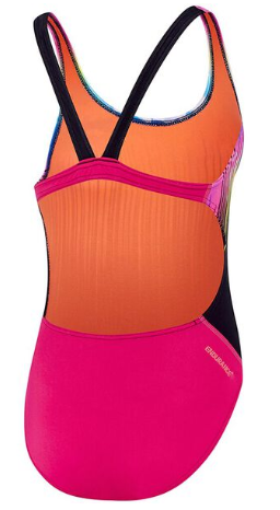 Powerstrike Leader back Girls Speedo