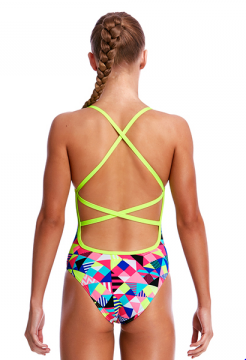Purple Patch Funkita Strapped In Back Girls