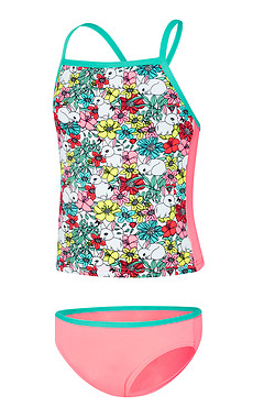 Toddler Girl Springtime Tankini Set Speedo