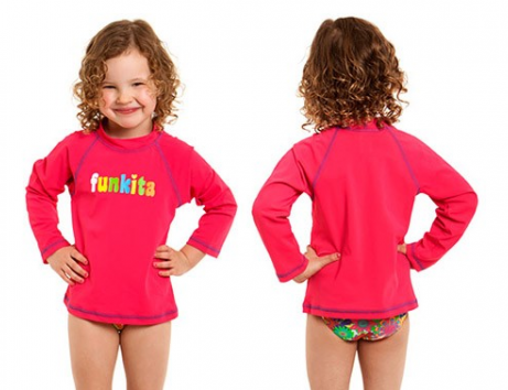 Toddlers  Sun Top/ still pink funkita