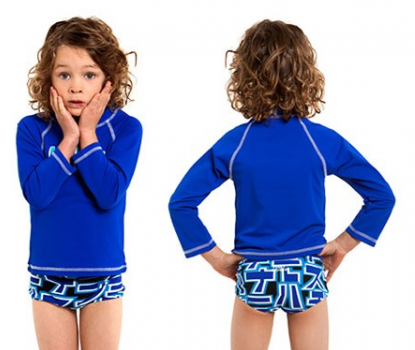 Still speed  Toddlers  Long sleeve Sun Top Funky trunks