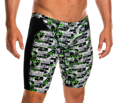 Midnight Marble Funky Trunks Jammers