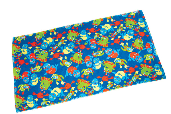 Zoggy Towel Blue Zoggs accessories