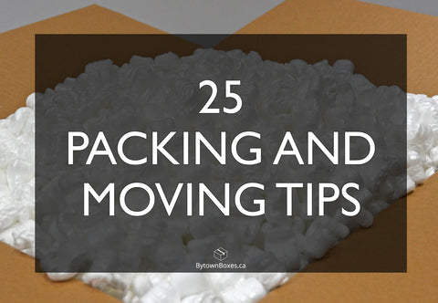25 packing and moving tips for Ottawa boxes