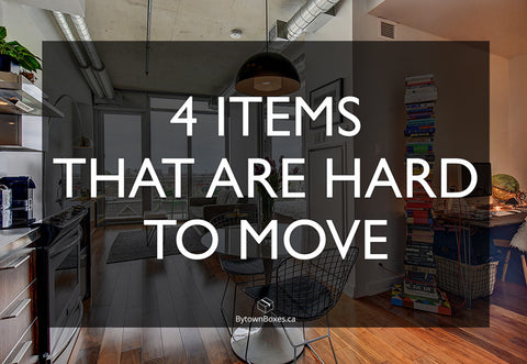 Four things that are hard to move in Ottawa - Moving boxes and moving supplies