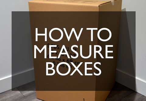 How to measure moving boxes in Ottawa