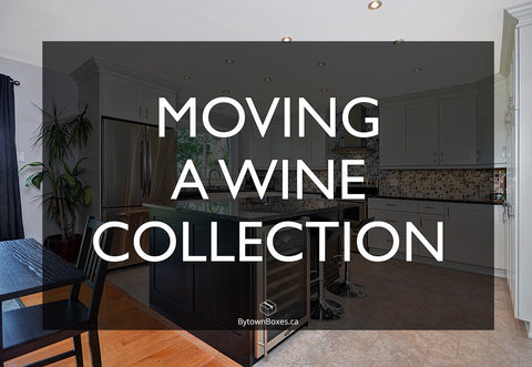 How To Move an Ottawa Wine Collection Boxes Supplies