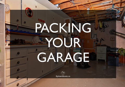Moving Your Garage In Ottawa Boxes
