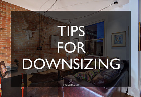Tips For Downsizing Moving In Ottawa Boxes