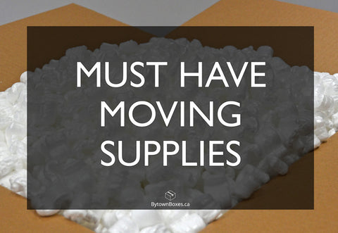 Must Have Moving Supplies when moving in Ottawa - Moving Boxes