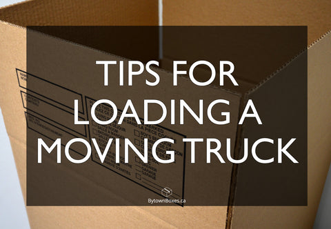 Loading an Ottawa Moving Truck Tips