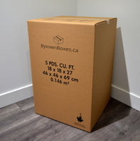 Large Box - 5 Cubic Feet