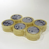 Clear Packing Tape (Six Rolls)
