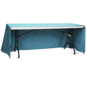 Open-Back Poly/Cotton Table Throw - 6'