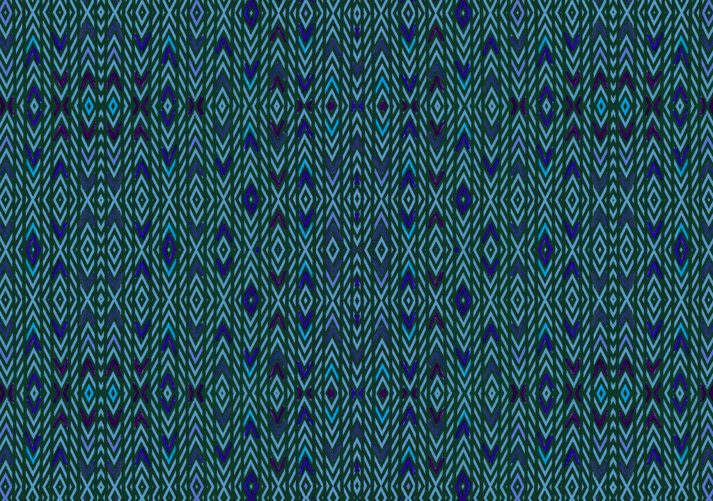 Loomed // Blue