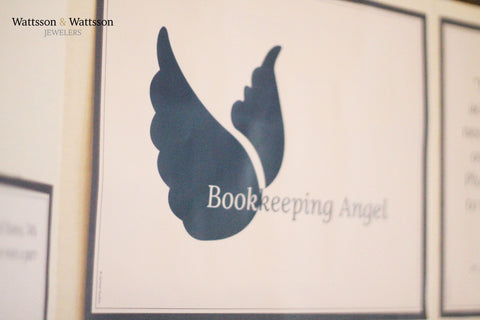 Bookkeeping Angel Logo