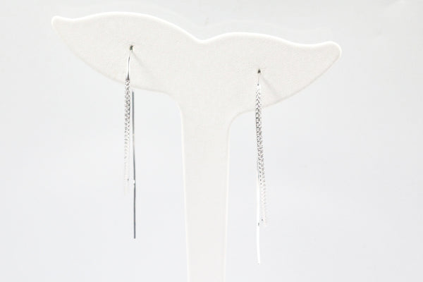 Lafonn Sterling Silver Open Hoop Earrings