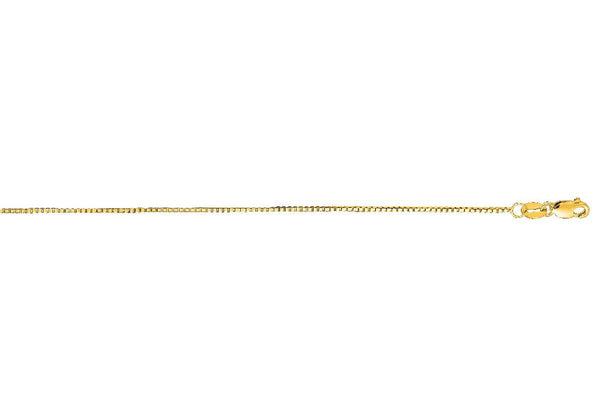 Yellow Gold Box Chain