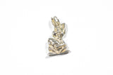 Sterling Silver Rabbit Pendant