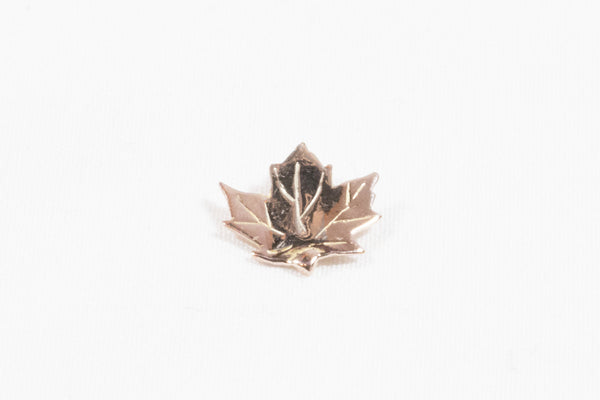 Rose Gold Maple Leaf Pendant