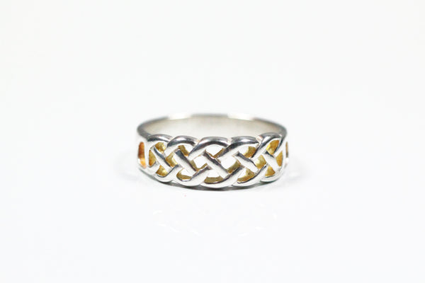 Sterling Silver Celtic Woven Band